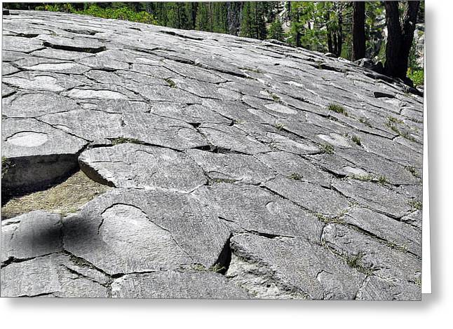 Stacks Greeting Cards - Devils Postpile - Nature and Science Greeting Card by Christine Till