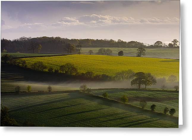 Devon Greeting Cards - Devon Dawn Greeting Card by Neil Buchan-Grant