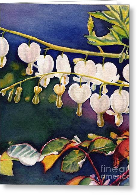 Dewdrops Paintings Greeting Cards - Dewdrops Greeting Card by Daniela Easter