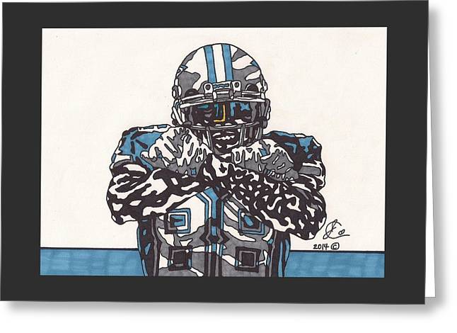Dez Bryant  Greeting Card by Jeremiah Colley