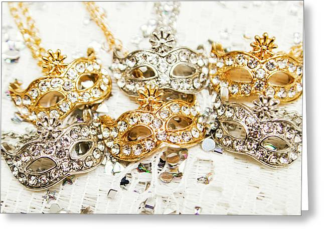Diamond Party Greeting Card by Jorgo Photography - Wall Art Gallery