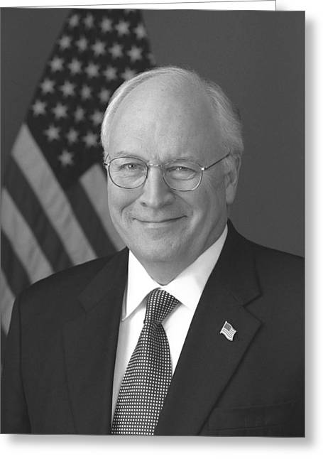 Dick Cheney Greeting Card by War Is Hell Store