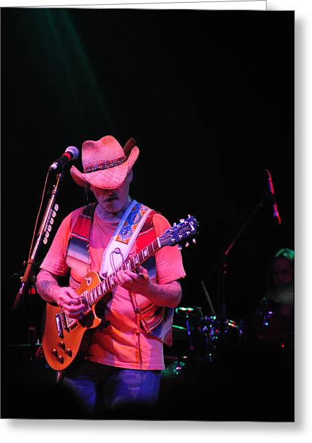 Dickie Betts Greeting Card by Mike Martin