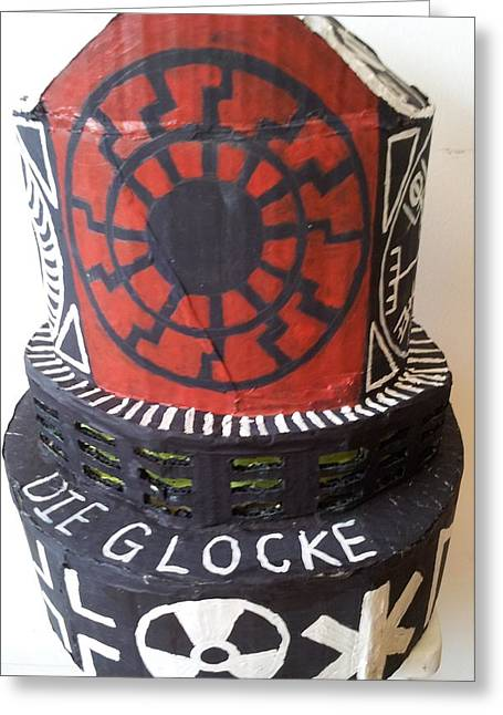 Experiment Sculptures Greeting Cards - Die Glocke Greeting Card by William Douglas