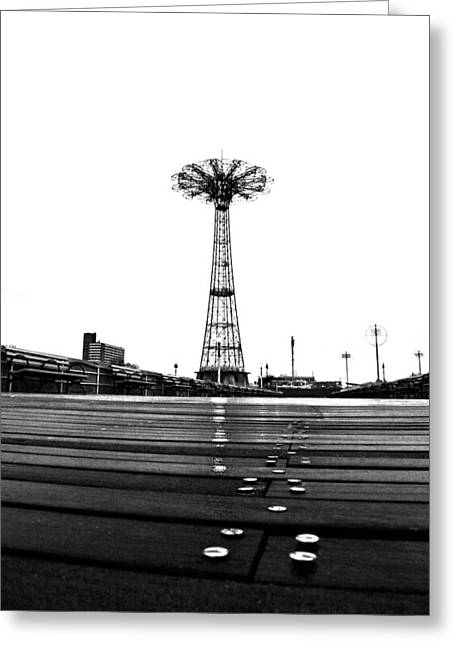 Coney Island Greeting Cards - Different Mentality Greeting Card by Mitch Cat