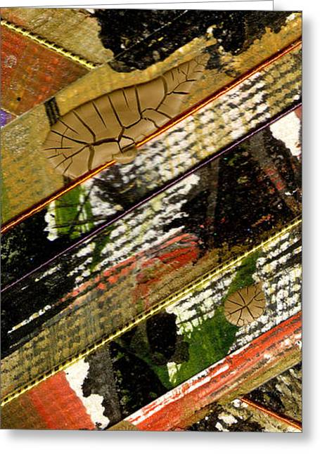 Religious Mixed Media Greeting Cards - Different Paths Greeting Card by Angela L Walker