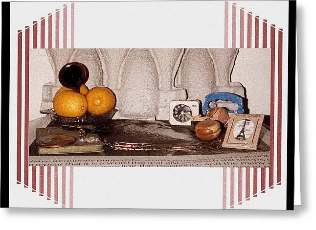 Digital Artwork Greeting Card by Stephen Gredler