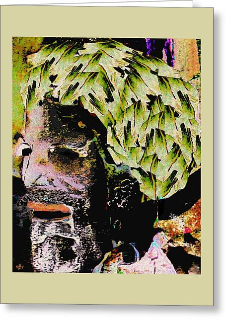 Dignity Greeting Card by Cliff Wilson