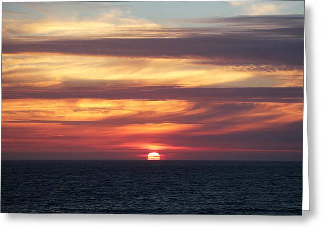 Dillon Beach Sunset Greeting Card by Sierra Vance