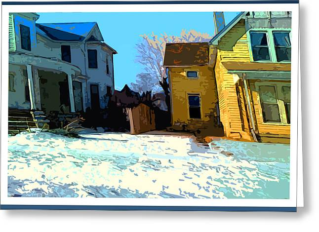 Pull Greeting Cards - Dillon St. Greeting Card by Charlie Spear