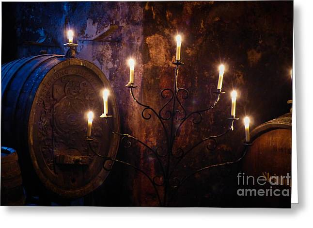 Kloster Greeting Cards - Dim Haze Of Mystery Greeting Card by Anna Wacker