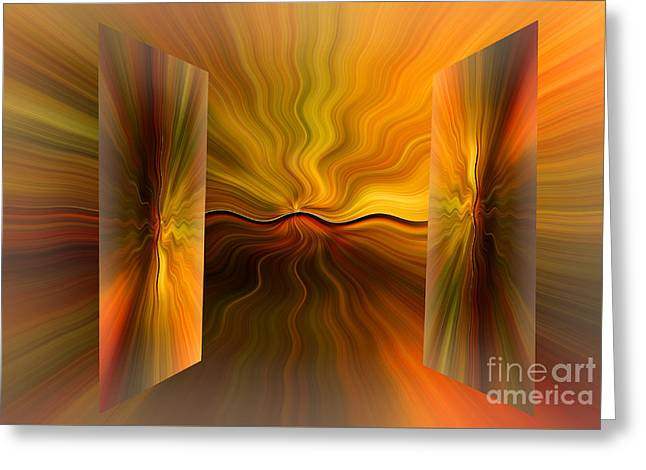Purchase Greeting Cards - Dimensions Greeting Card by Geraldine DeBoer