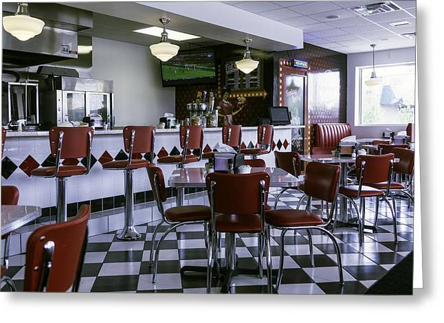 Diner New Orleans Greeting Card by Garry Gay