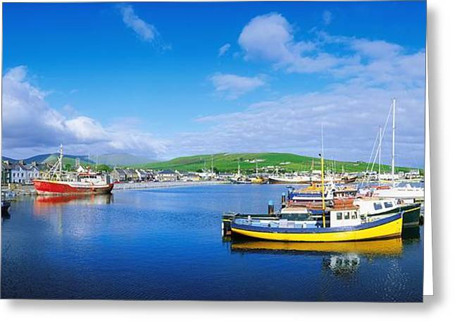 Panoramics Greeting Cards - Dingle, Dingle Peninsula, Co Kerry Greeting Card by The Irish Image Collection