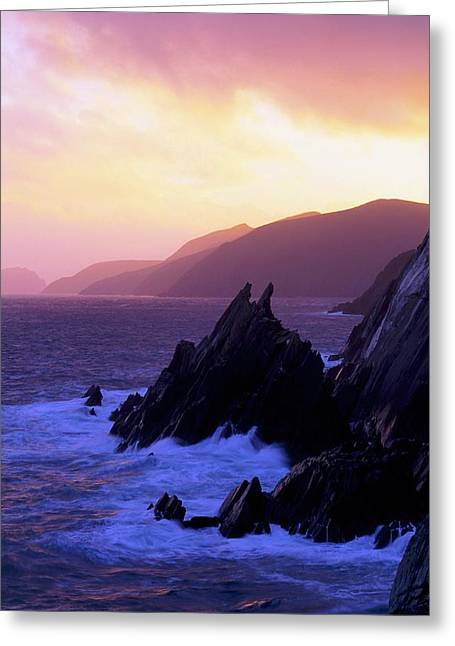 Collection Of Rocks Greeting Cards - Dingle Peninsula, Co Kerry, Ireland Greeting Card by The Irish Image Collection