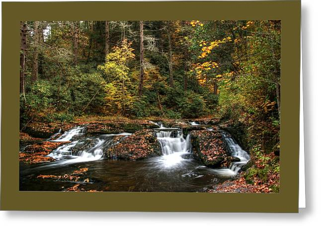 Dingman's Creek 4  - Milford P A Greeting Card by Allen Beatty