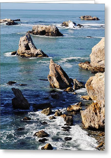 Coast Highway One Greeting Cards - Dinosaur Caves Park  Greeting Card by Kyle Hanson