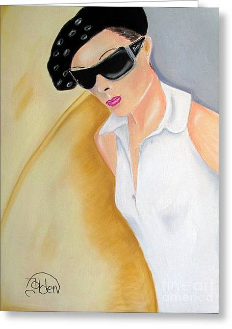 Sunglasses Pastels Greeting Cards - Dior..2 Greeting Card by Jo Hoden