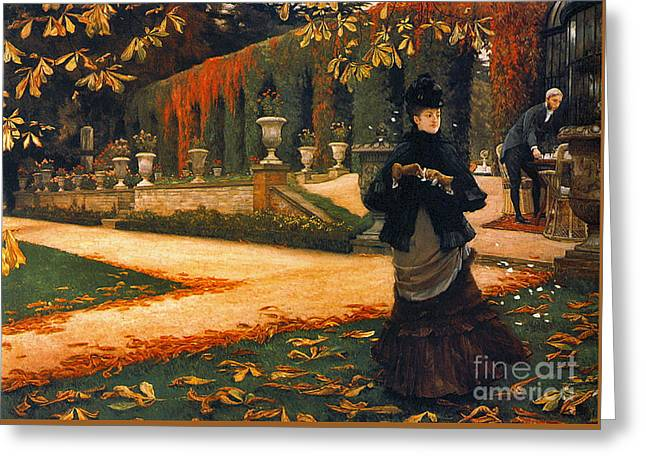 Disagreeable Letter 1876 Greeting Card by Padre Art