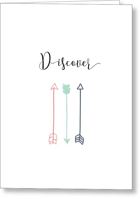 Discover Greeting Card by Nancy Ingersoll