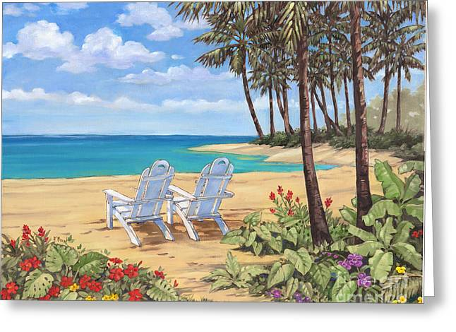 Discovery Greeting Cards - Discovery Bay I Greeting Card by Paul Brent