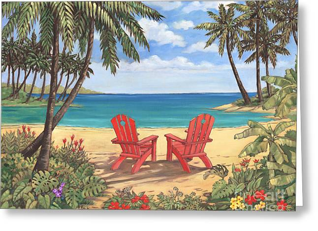 Discovery Greeting Cards - Discovery Bay II Greeting Card by Paul Brent