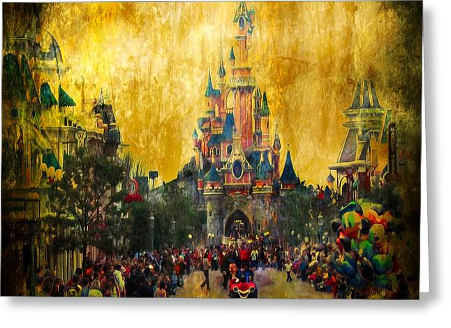 Svetlana Sewell Greeting Cards - Disney World Greeting Card by Svetlana Sewell