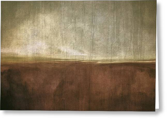 Strength Digital Art Greeting Cards - Distressed Ground Greeting Card by LC Bailey