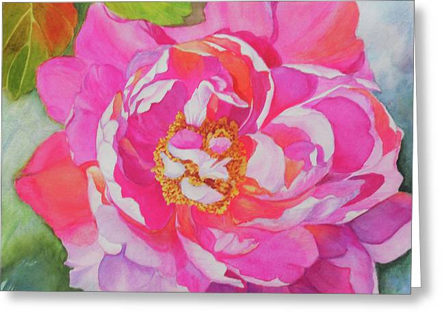 Diva Greeting Card by H S Craig