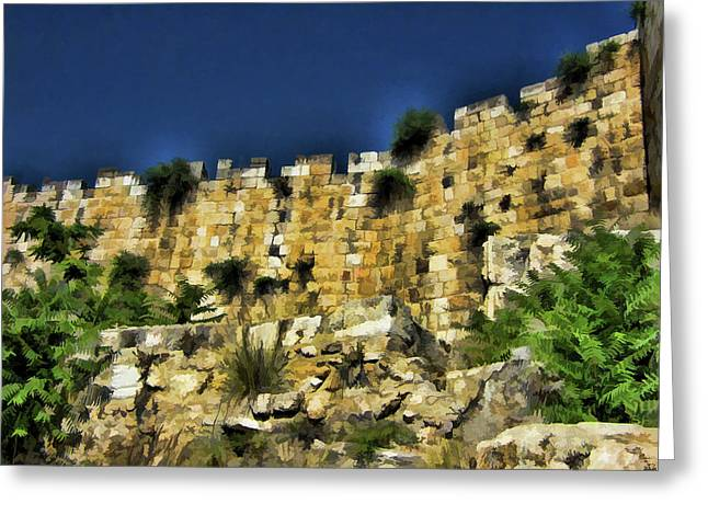 Stonewall Greeting Cards - Divide between Old and New Greeting Card by Douglas Barnard