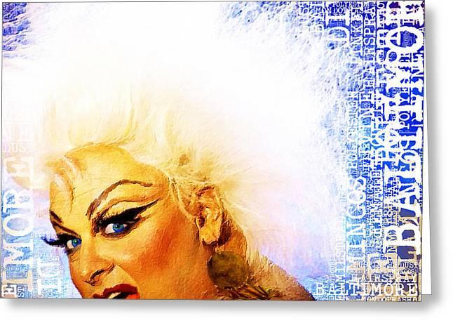 Divine 2 Greeting Card by Tony Rubino