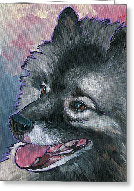 Dixie Greeting Card by Nadi Spencer