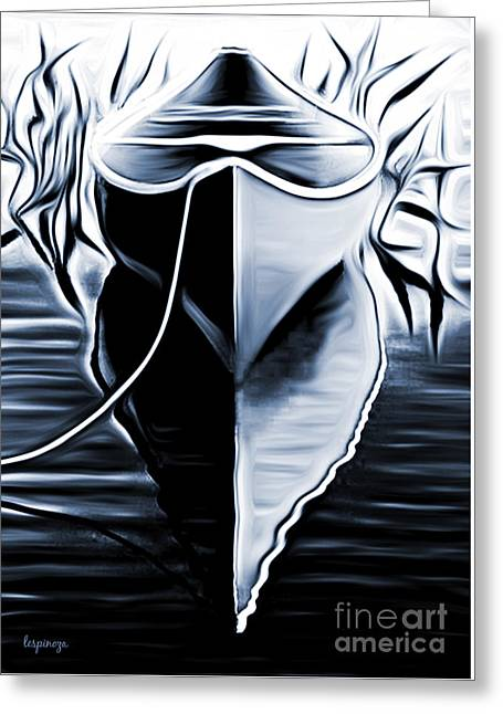 Canoe Greeting Cards - Do You Canoe Greeting Card by Larry Espinoza