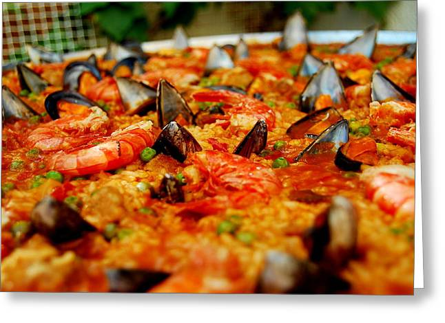 Paella Greeting Cards - Do you love Paella Greeting Card by HQ Photo