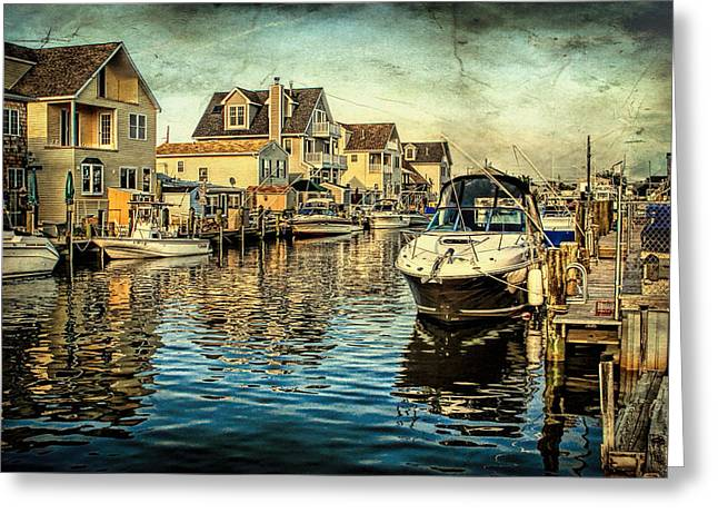 Ocean Art Photography Greeting Cards - Docked  Greeting Card by Geraldine Scull