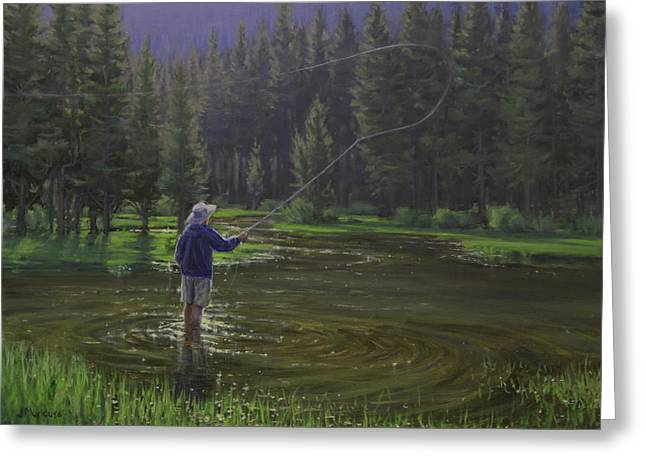 Recently Sold -  - Fishing Creek Greeting Cards - Doctors Orders Greeting Card by Joe Mancuso