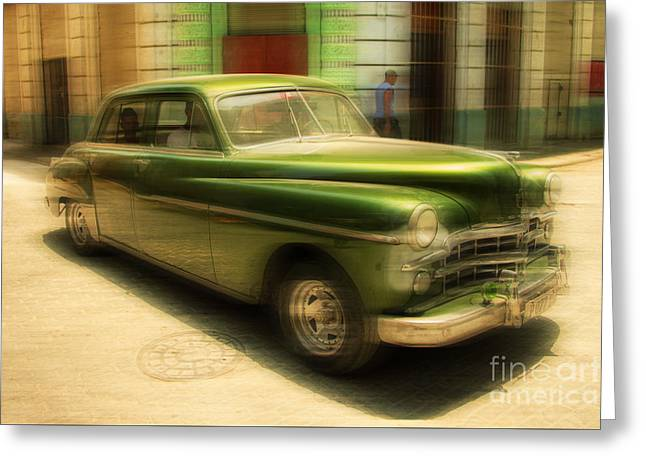 Vivid Colour Greeting Cards - Dodge Coronet  Greeting Card by Rob Hawkins