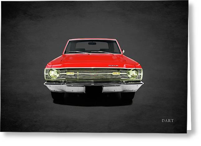 Dodge Dart 340 Greeting Card by Mark Rogan