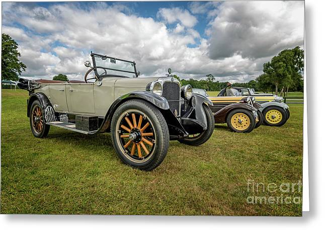 Dodge Four Tourer Greeting Card by Adrian Evans