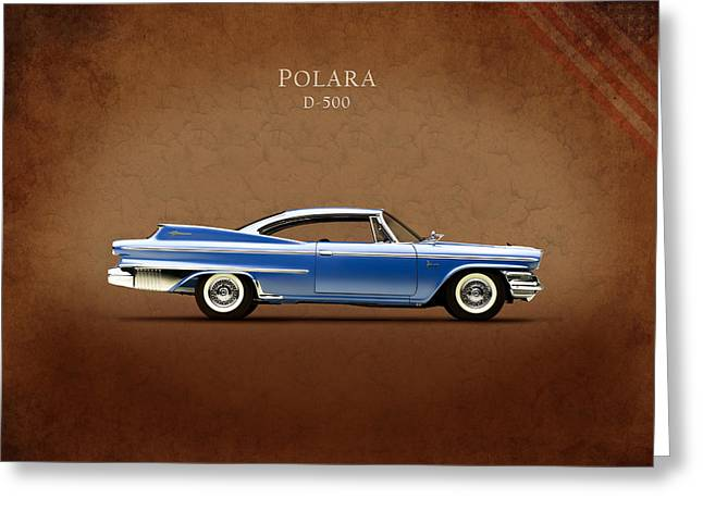 Car Greeting Cards - Dodge Polara D 500 Greeting Card by Mark Rogan