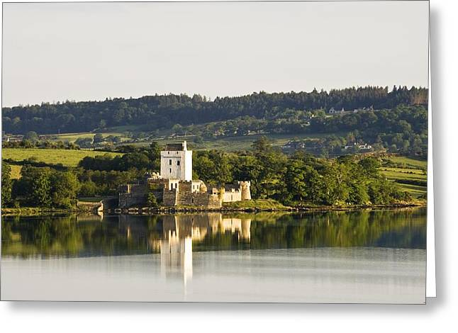 Mediaeval Greeting Cards - Doe Castle, County Donegal, Ireland Greeting Card by Peter McCabe