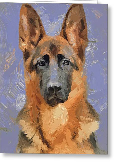 House Pet Greeting Cards - Dog Freedom Greeting Card by Yury Malkov