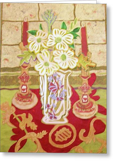 Intricate Cuts Greeting Cards - Dogwood flower Still life Greeting Card by Sandra fw Beaty