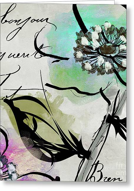 Dogwood I Greeting Card by Mindy Sommers
