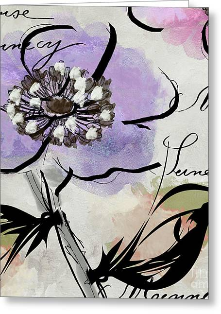 Dogwood II Greeting Card by Mindy Sommers