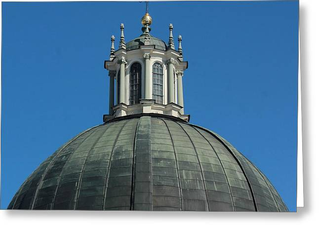 Historic Site Greeting Cards - Dome Greeting Card by Andrew Wijesuriya