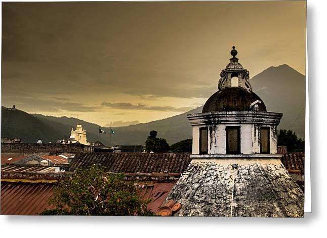 Cupula Greeting Cards - Domes Antigua Guatemala 2 Greeting Card by Totto Ponce