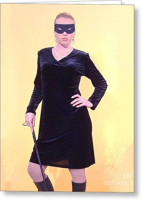 Dominatrix Greeting Cards - Dominatrix II Greeting Card by Ken Watkins