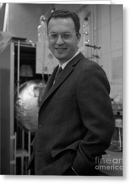 Donald Glaser, American Physicist Greeting Card by Science Source