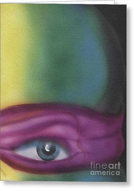 Donatello Greeting Card by John Sodja